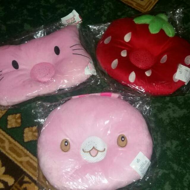 Speaker Pillow (Cat / Strawberry / Rabbit)