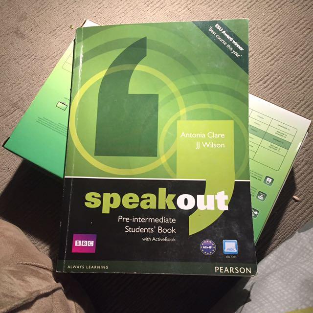 Speakout pre-intermediate book