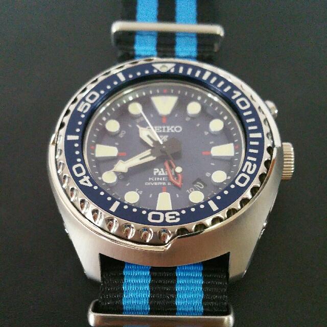 SUN065P1 Seiko PADI Prospex Kinetic 200m Men s Watch 3876af5236