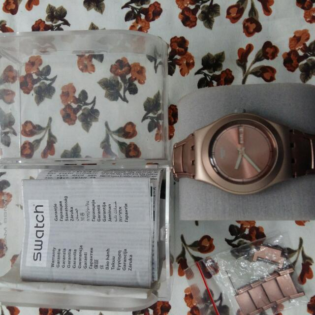 Swacth Irony Rose Gold