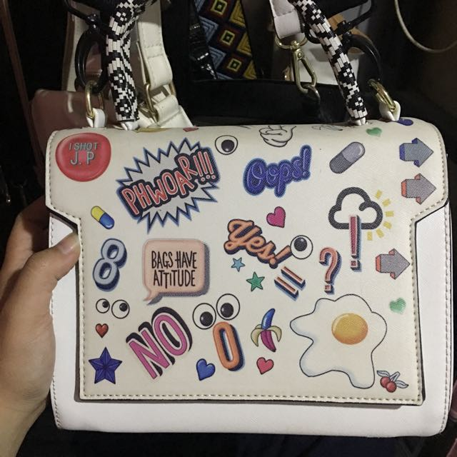 Tas Import Patches White