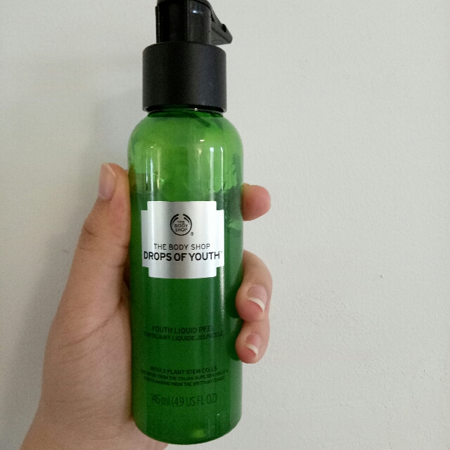 the body shop drop of youth exfoliate