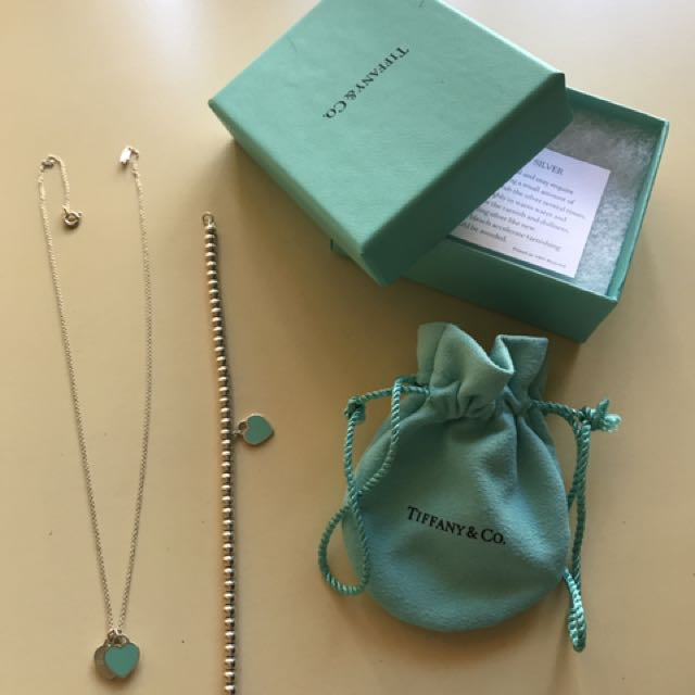 Tiffany & Co Necklace/ Bracelet Set