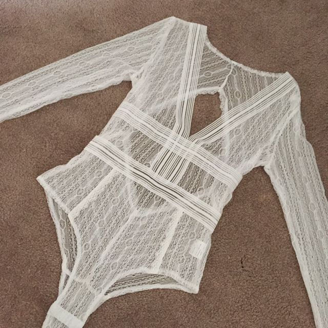 Tigermist Lace Bodysuit