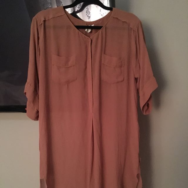 Wilfred Size S Long Button Up Shirt