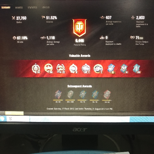World Of Tank (Asia Server), Toys & Games, Video Gaming