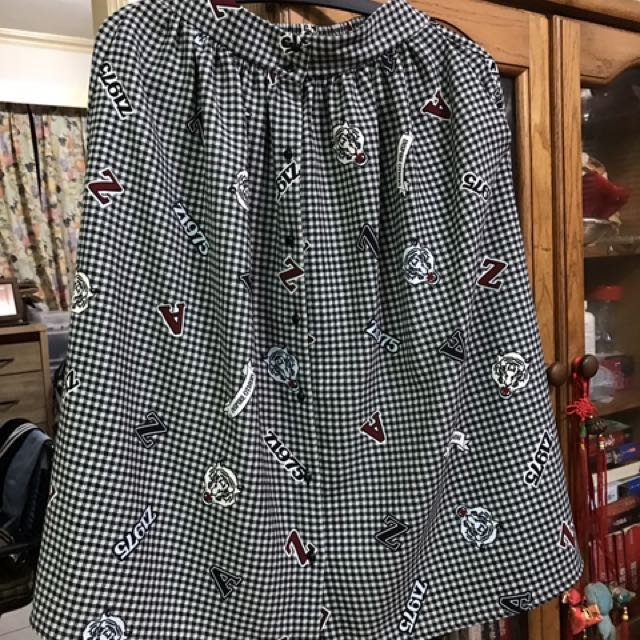 Zara 格子裙 XS