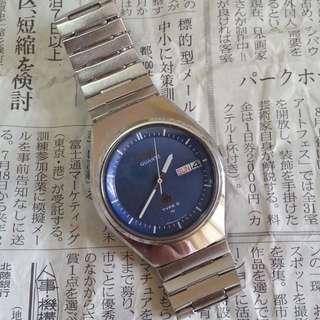 70年代中古精工石英時計 70's Vintage Seiko Quartz Timepiece セイコー クォーツ (Oct 1977 昭和 52 年 10 月製)