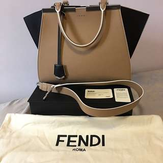 Fendi Top Handle 3 Hours Tote Bag
