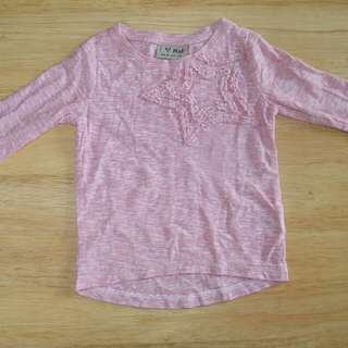 NEXT used baby girl long sleeves t-shirt