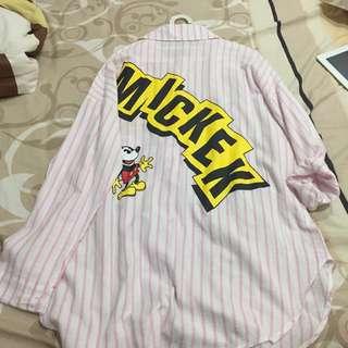 Mickey Dress-Kemeja