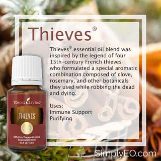 <BRAND NEW> Young Living Thieves Essentil Oil 5ml