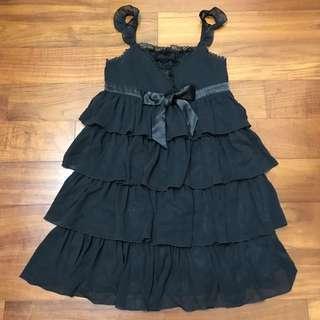 [全新原價$3680]H2O日系專櫃氣質蕾絲雪紡多層次小洋裝/小禮服
