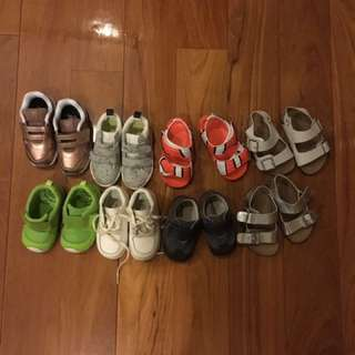 Toddler Shoes From Size 21-22.5