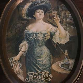 Pepsi old fashioned lady