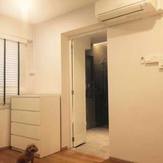 Master bedroom at Massionette for rent