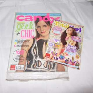 2pcs. Collectible Magazines