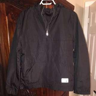 Quarter Zip Black Jacket