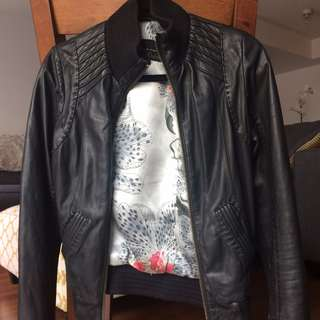 XS MACKAGE LEATHER JACKET
