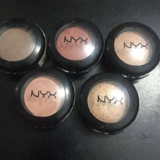 Bulk buy 5 Nyx Eyeshadows