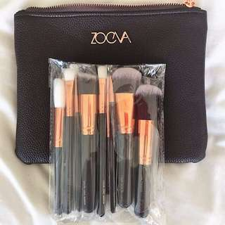 Zoeva Replica 15 Brushes & Bag