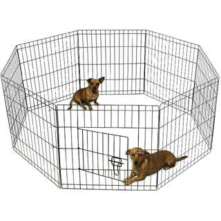 8-Panel Pet Exercise Play Pen