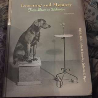 Learning And Memory From Brain And Behavior