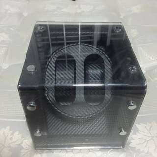 Carbon Skin Watch Winder for Fast Sale