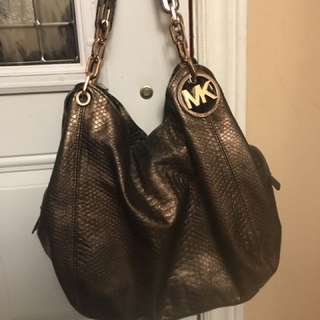 Authentic Michael Kors Large Fulton Bag