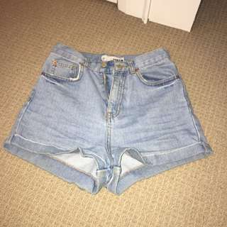TOPSHOP high-waisted shorts