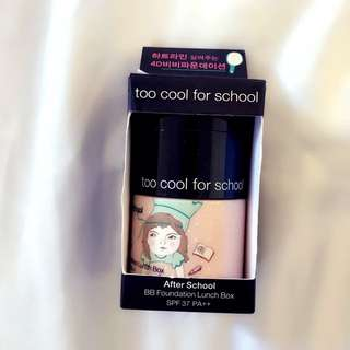 Too cool for school base makeup