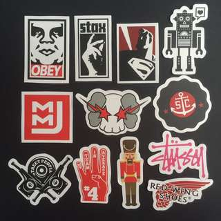 Sticker Waterproof High Quality - Brands StreetWear