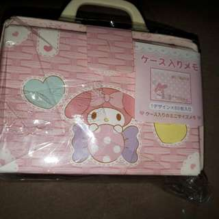 My Melody Notepad Orig Sanrio