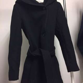 *PRICE DROP* ARITZIA WOOL COAT BLACK XXS