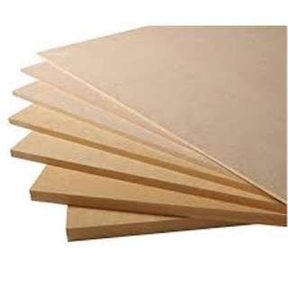 Plywood Cutting Services (Loose Cut Plywood and MDF)