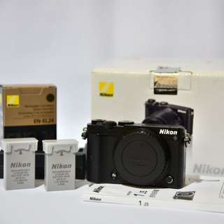 Nikon 1 J5 單機身(黑色)