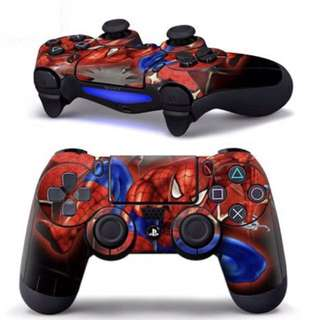 Spiderman ps4 controller skin