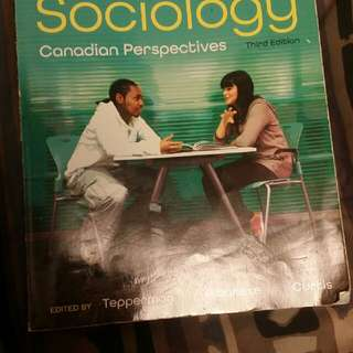 Principles Of Sociology: Canadian Perspectives  3rd Edition