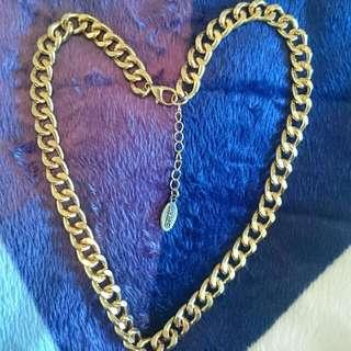 Esprit Quality Curb Faux Gold Chain