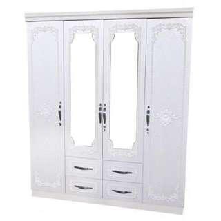 Wardrobe Cabinet White