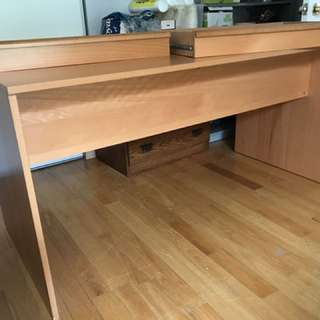 Moving sale IKEA Desk with 2 drawers $30 (was $250)