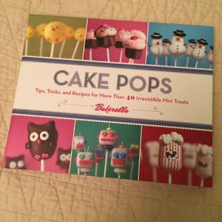 Cake pop cookbook