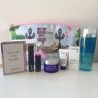 Lancome 8pc Renergie Set