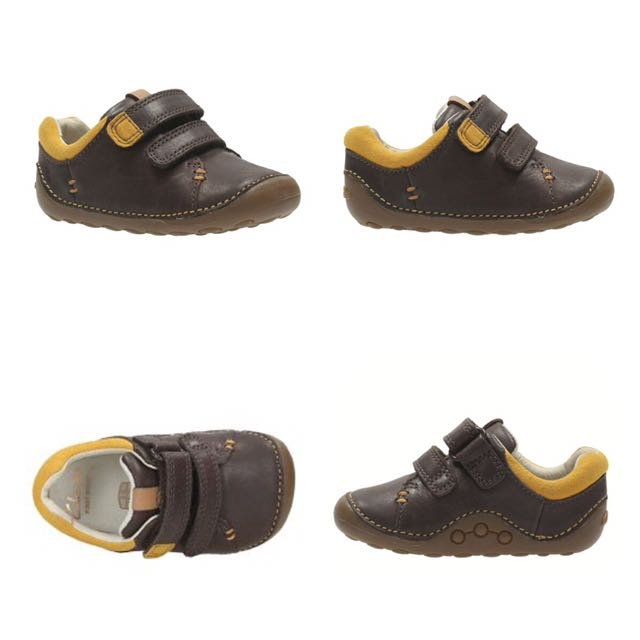 9a46f4387a0 100% Original Brand New CLARKS Baby Boy Leather Shoes, Babies & Kids ...