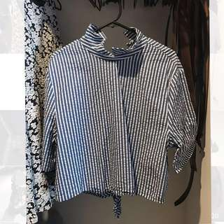 ZARA Stripe Shirt (L)