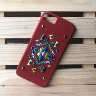 Aztec Embroidered iPhone 7 Case