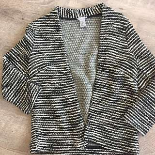 H&M overpeice size xs
