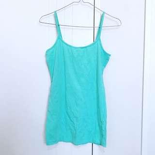 Mint green Singlet