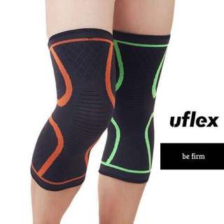 ATHLETIC KNEE COMPRESSION SLEEVE, Easy pull-on, Single Wrap.