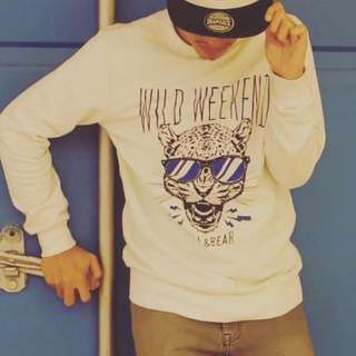 Pull&Bear printed sweatshirt